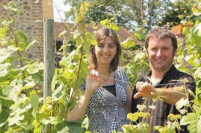 Chantal et Philippe Mur vignerons au Clos Basté