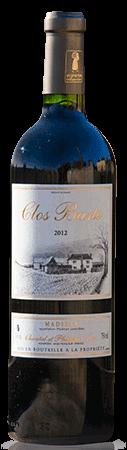 Nos vins représentés par la cuvée prestige : Clos Basté AOC Madiran