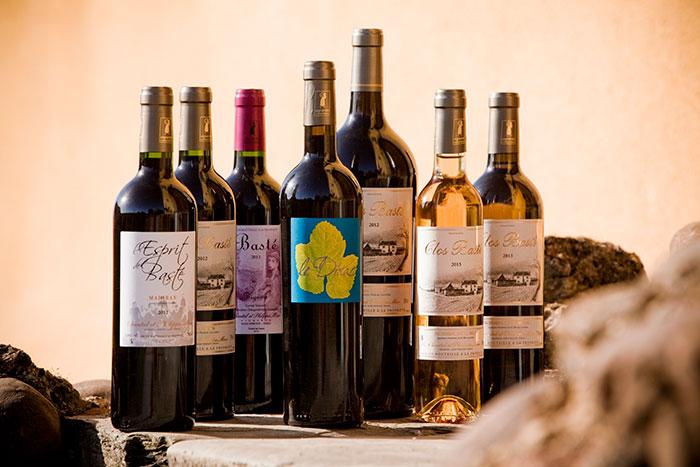 Sélection de vins Clos Basté appellation Madiran Pacherenc du Vic-Bilh